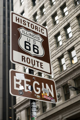Start of Route 66, Chicago