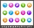 Food Icons - Set 2 of 2 // Rainbow Series