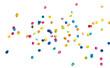 Papier Konfetti auf weißem Hintergrund - Paper Confetti on White - 48182154