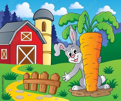 Image with rabbit theme 2