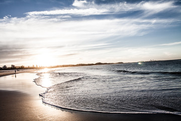 Gold Coast beaches, Queensland Australia