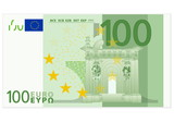 Hundred euro banknote