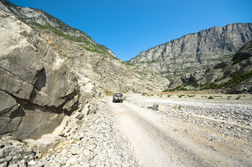 Cemi Canyon in Kelmend, Albania