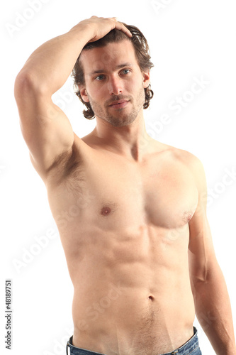 Young naked sexy man