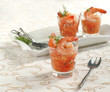 Tomato salsa with shrimp