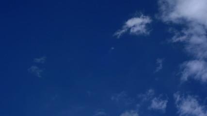 Blue sky time lapse