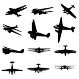 High resolution set of black planes