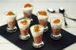 verrines de saumon citronné et fromage blanc 2