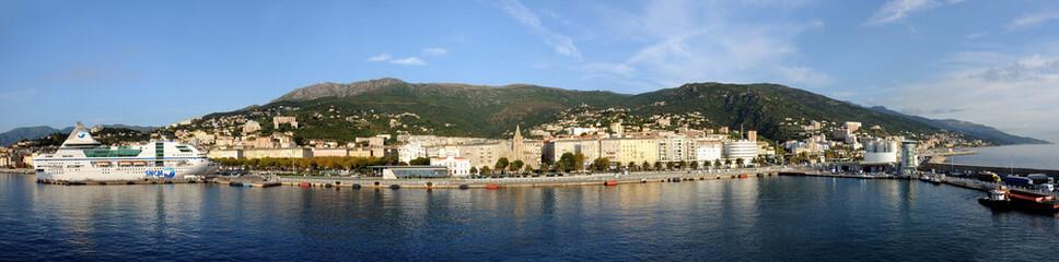 Bastia panorama