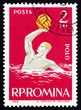 Postage stamp Romania 1963 Water Polo, Sport