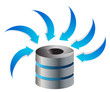 Cloud Computing Server Icon