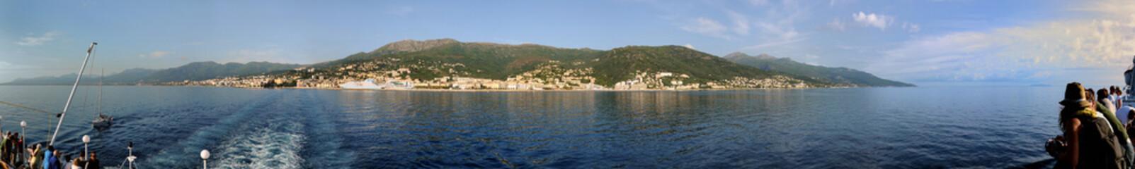 Korsyka panorama