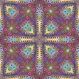 Seamless American tribal pattern