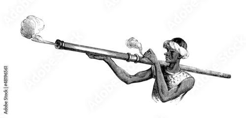 Weapon : Bombard - Bombarde à Main - 15th century