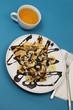 Crêpe Banane Chocolat et Bolée de cidre