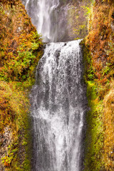 Multnomah Falls Waterfall Columbia River Gorge Oregon