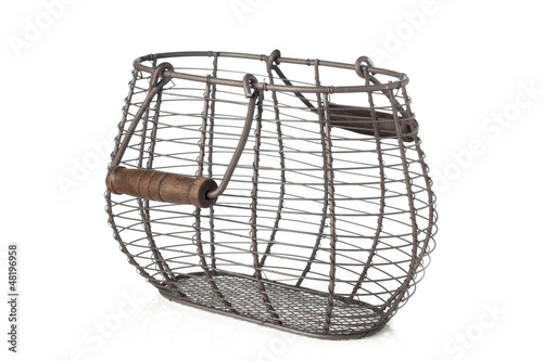 Wire basket for eggs