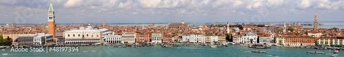Vue panoramique de Venise - Italie
