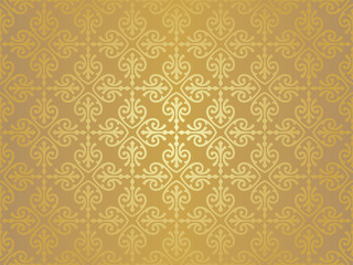 pale brown vintage wallpaper design