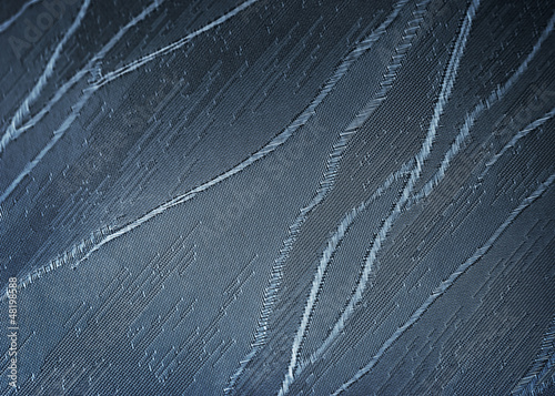 Closeup detailed blue canvas abstract background texture