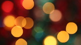 Out of focus colorful glimmering lights. Seamless loop. poster