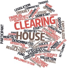 Word cloud for Clearing house