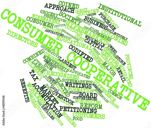 Word cloud for Consumer cooperative