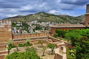 La Alhambra in Granada, Spain