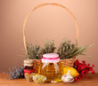 Honey and others natural medicine for winter flue,