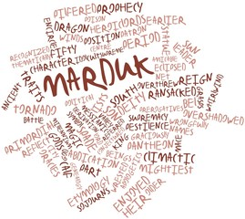 Word cloud for Marduk