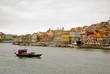 Porto with wine boat, Portugal