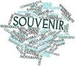 Word cloud for Souvenir