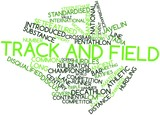 Word cloud for Track and field