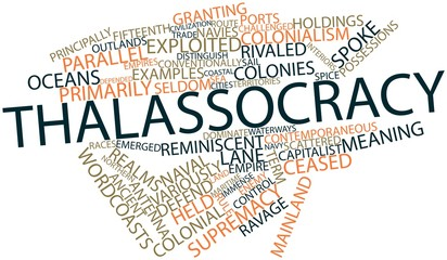 Word cloud for Thalassocracy