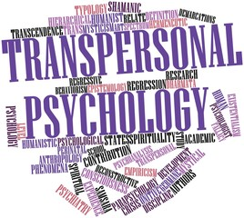 Word cloud for Transpersonal psychology
