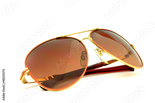 Sunglasses isolated on white background.