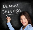 Teacher teaching chinese language learning