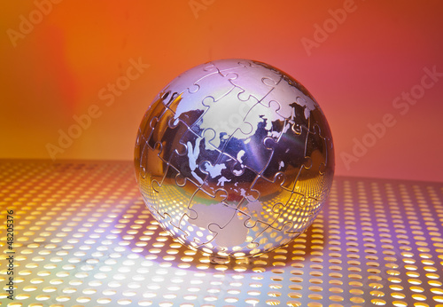 technology style against fiber optic background
