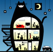 黒猫ハウス