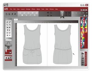 application window dress
