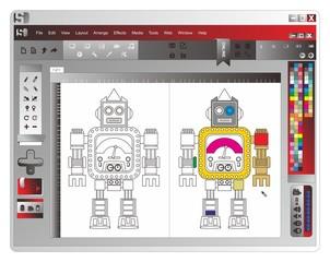 application window robot