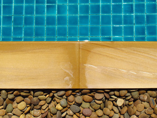 close up of a swimming pool