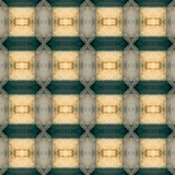 Repetitive wallpapaer pattern poster