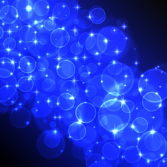 Blue Circles and Stars