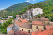 Panoramic view of Valsinni. Basilicata. Italy.