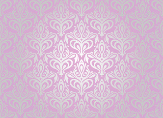 pink & silver  pale wallpaper background