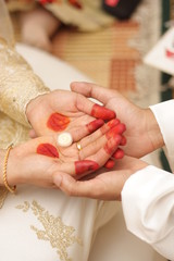 Marriage contract ceremony (akad nikah)