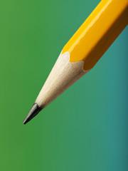 Sharpened pencil tip