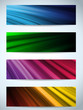 Colorful Web Banners Backgrounds