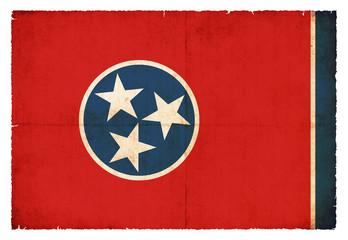 Grunge-Flagge Tennessee (USA)